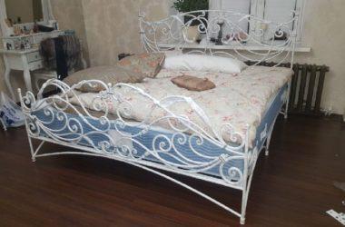 Кованая кровать КК-11 фото 1