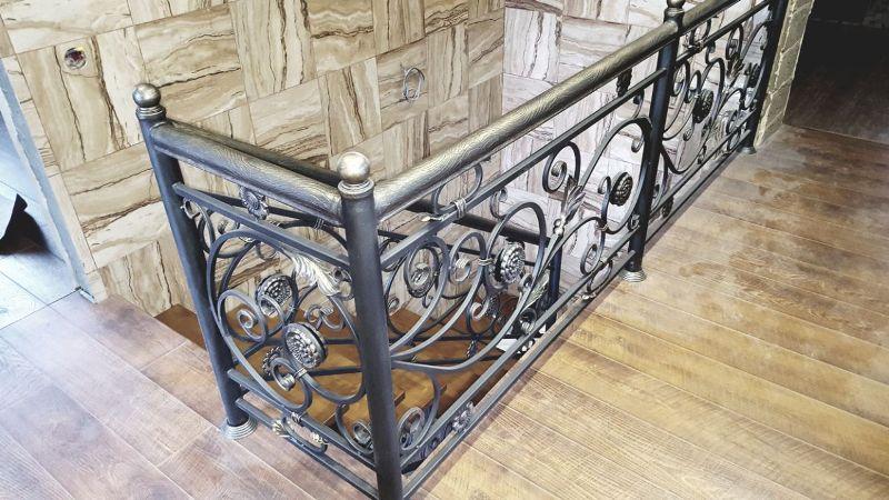 Кованая лестница КЛ-37