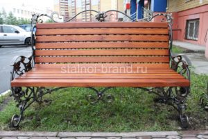 кованые скамейки заказать на сайте stainoy-brend.ru