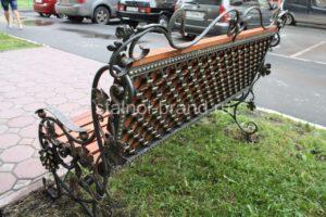 купить кованые скамейки Тюмень