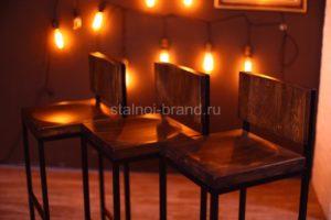 Купить в Тюмени кованые стулья недорого