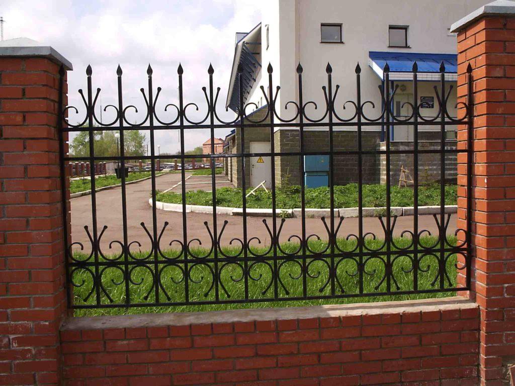 Кованый забор КЗ-21