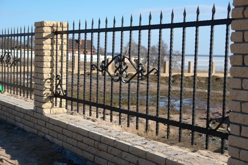 Кованый забор КЗ-18