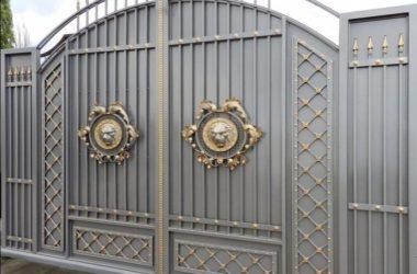 Кованые ворота КВ-2