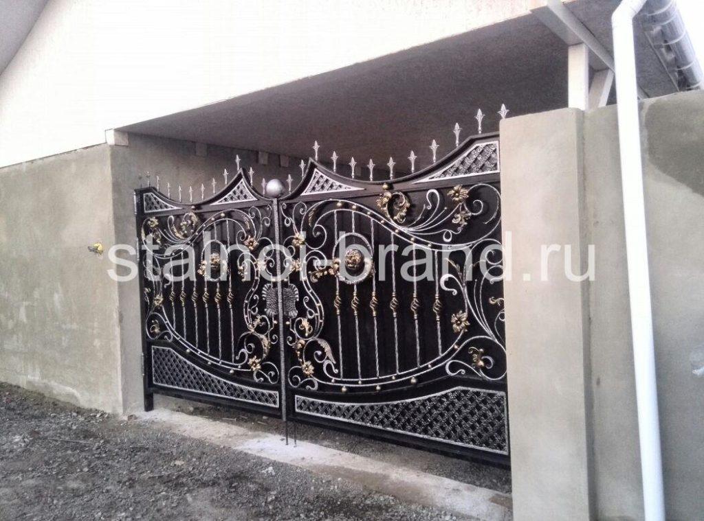 Кованые ворота КВ-1