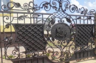 Кованый забор КЗ-16