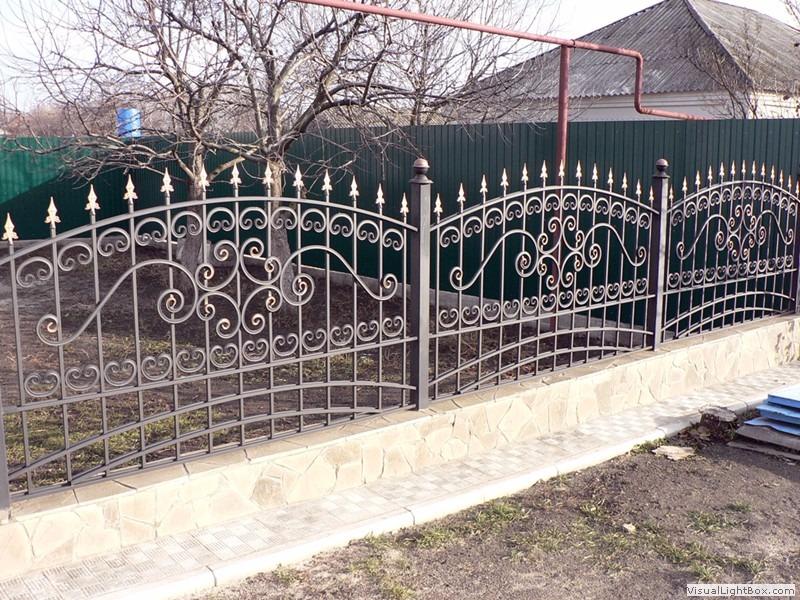Кованый забор КЗ-8