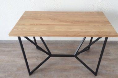 Кованый стол из ясеня КС-46 в Тюмени