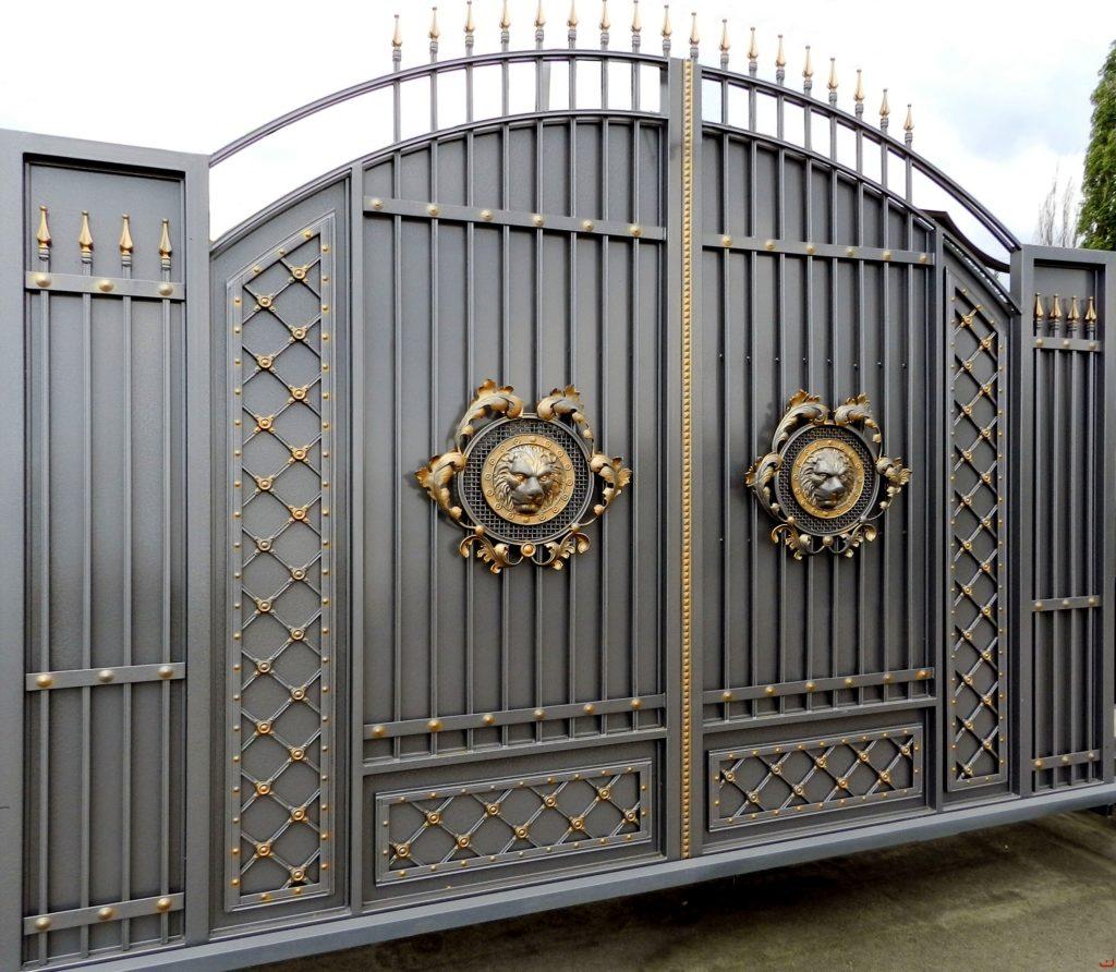 Кованые ворота КВ-17