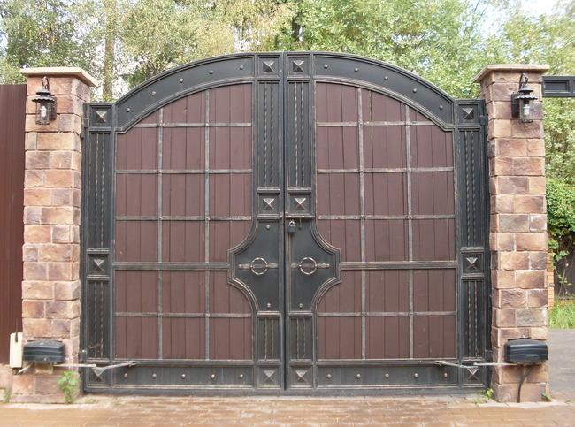 Кованые ворота КВ-36