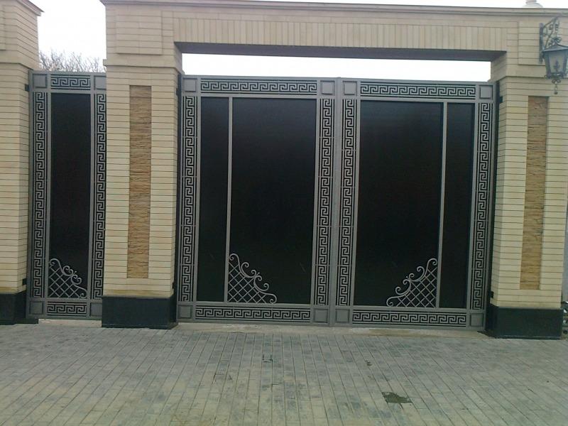 Кованые ворота КВ-37