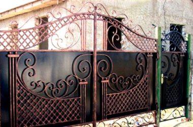 Кованые ворота КВ-9 в Тюмени