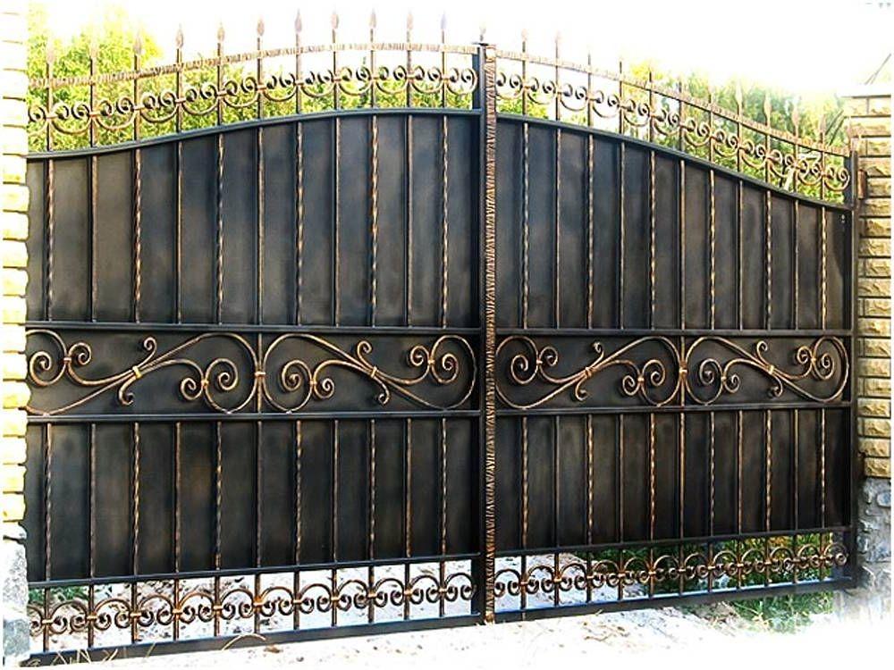 Кованые ворота КВ-24