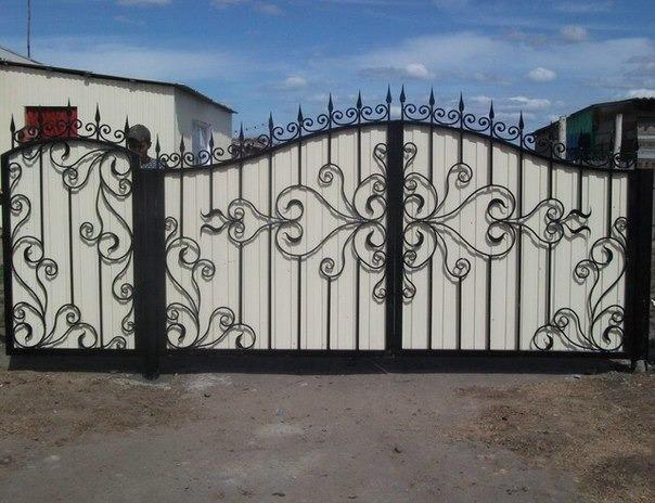 Кованые ворота КВ-26