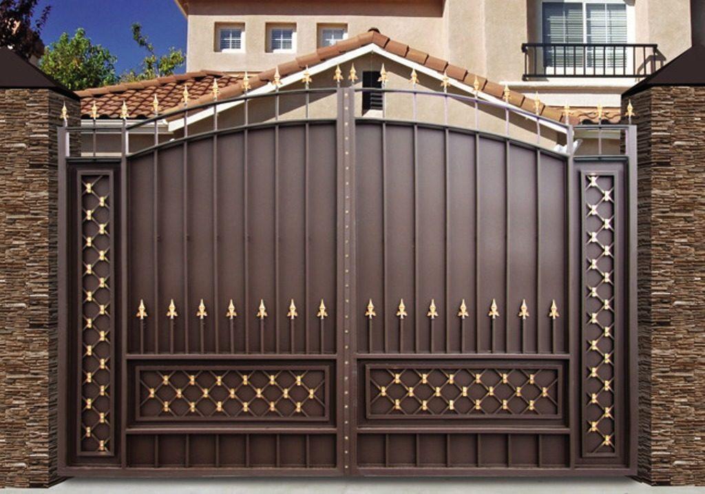 Кованые ворота КВ-49