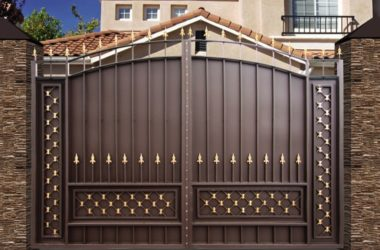 Кованые ворота КВ-49 фото