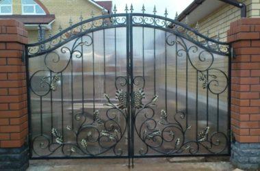 Кованые ворота КВ-50