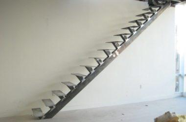 Кованая лестница КЛ-3