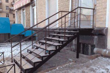 Кованая лестница КЛ-22
