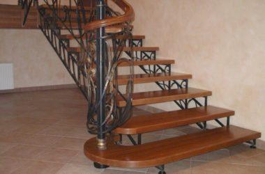 Кованая лестница КЛ-26