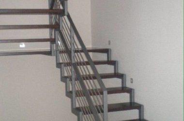Кованая лестница КЛ-8