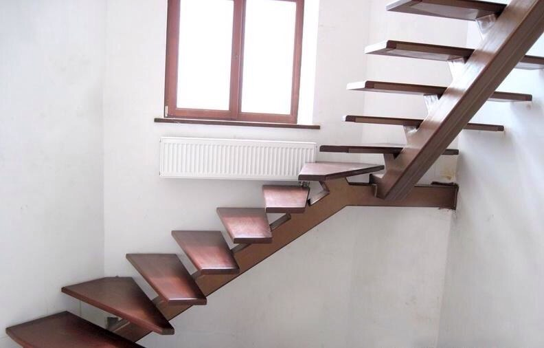 Кованая лестница КЛ-16