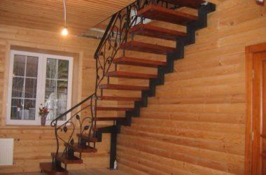 Кованая лестница КЛ-24