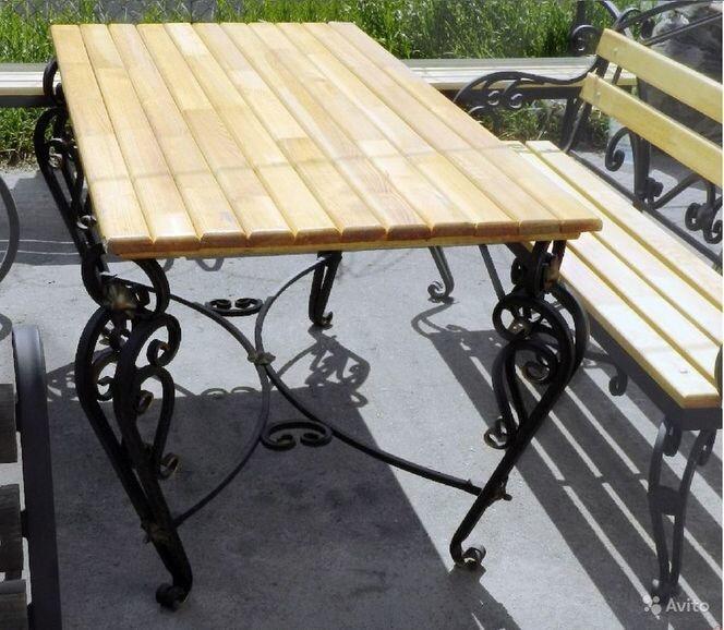 Кованый стол КС-30