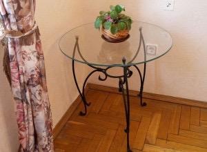 Кованый стол КС-41 фото 1