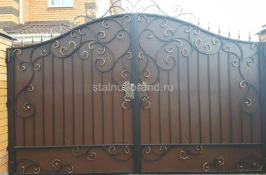 Кованые ворота КВ-56