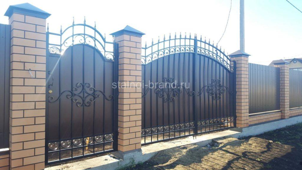 Классические кованые ворота КВ-57 купить