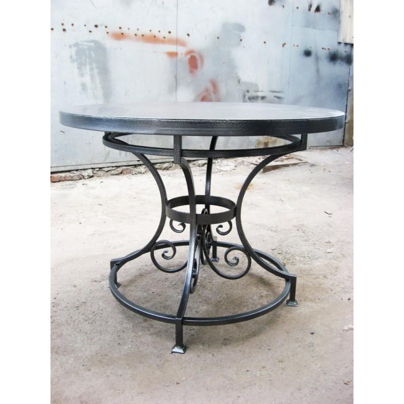 Кованый стол КС-49 фото 1