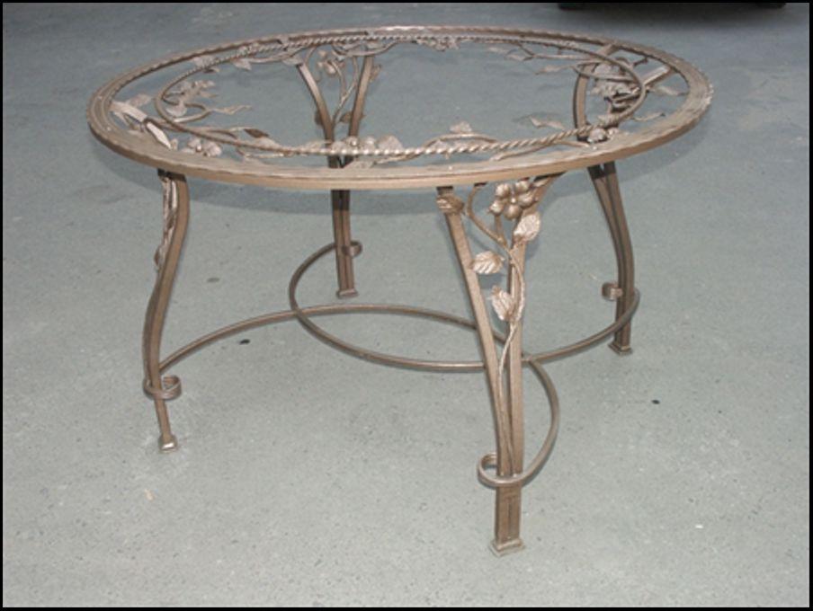 Кованый стол КС-52