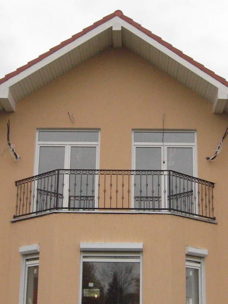 Кованое балконное ограждение КБО-17