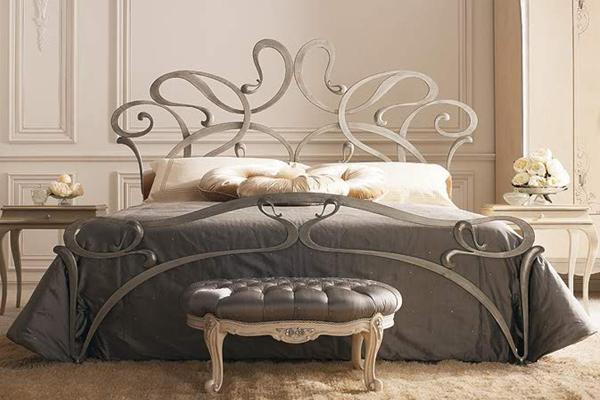 Кованая кровать КК-3