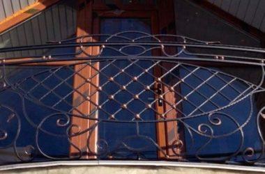 Кованое балконное ограждение КБО-8