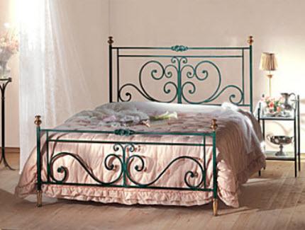 Кованая кровать КК-9
