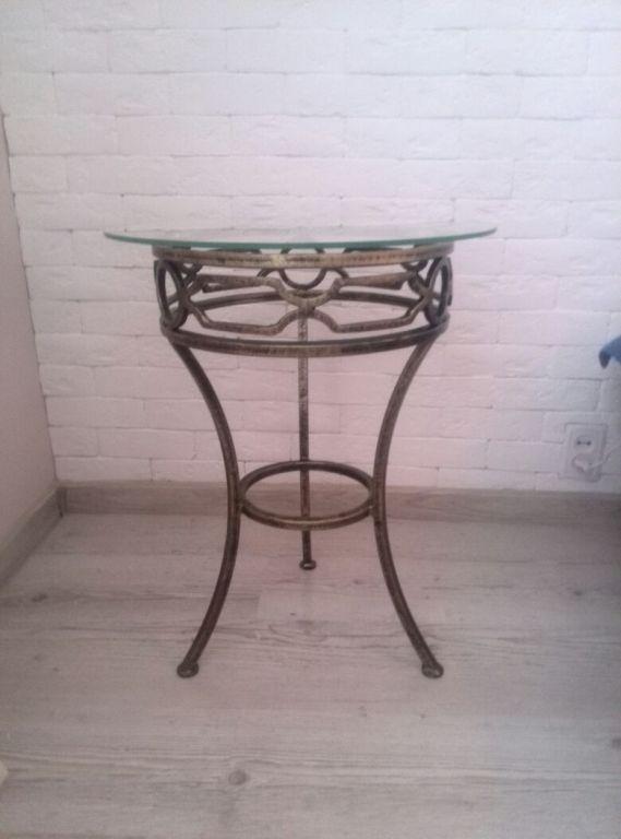 Кованый стол КС-59 фото 1